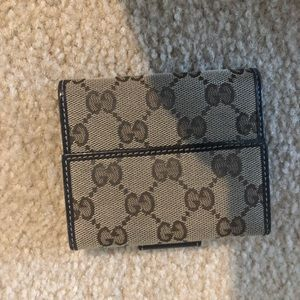 Authentic GUCCI G wallet